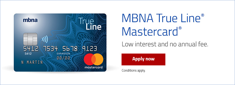 Mbna canada mastercard credit card your credit card reheart Gallery
